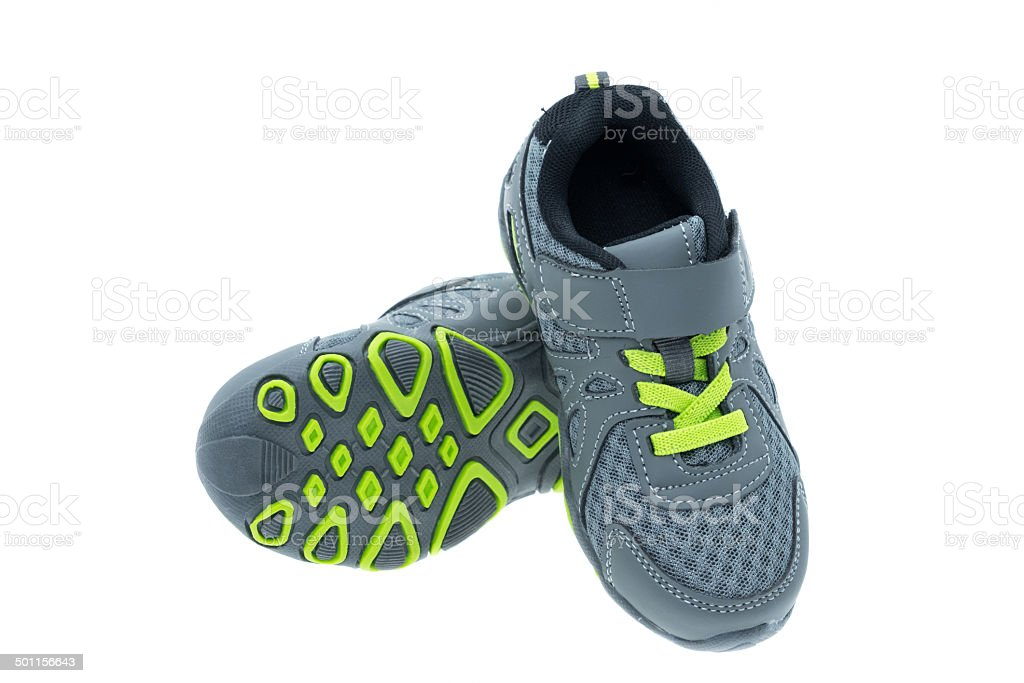 Childs sports shoe royalty-free stock photo