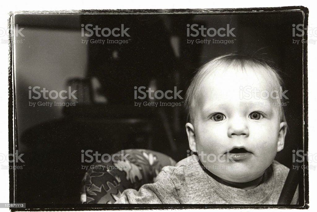 Child's stare royalty-free stock photo