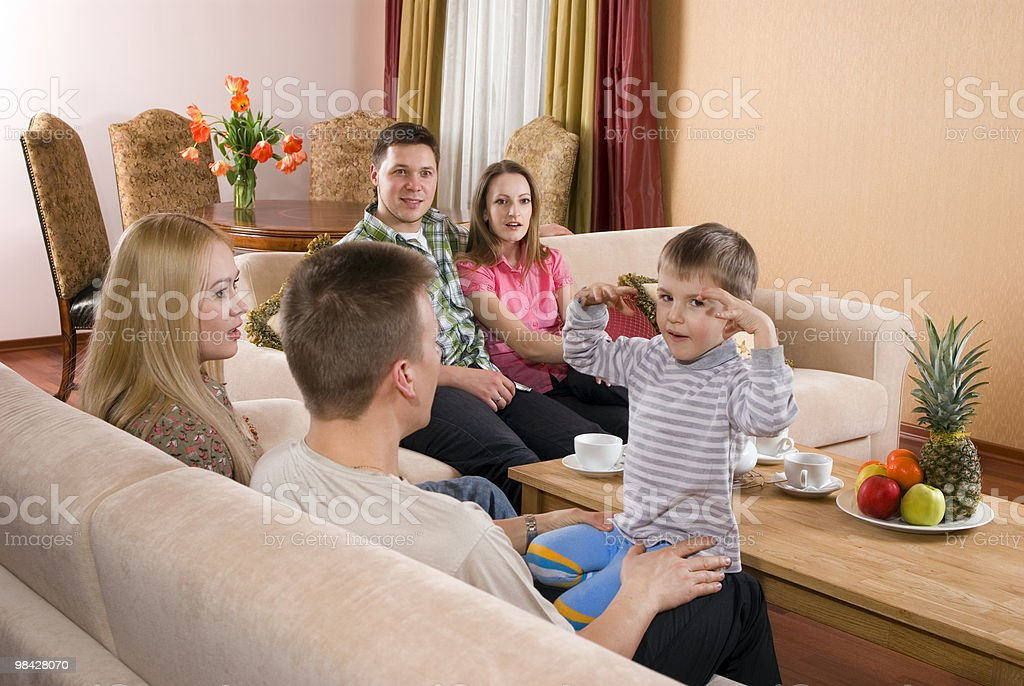 Child's story royalty-free stock photo