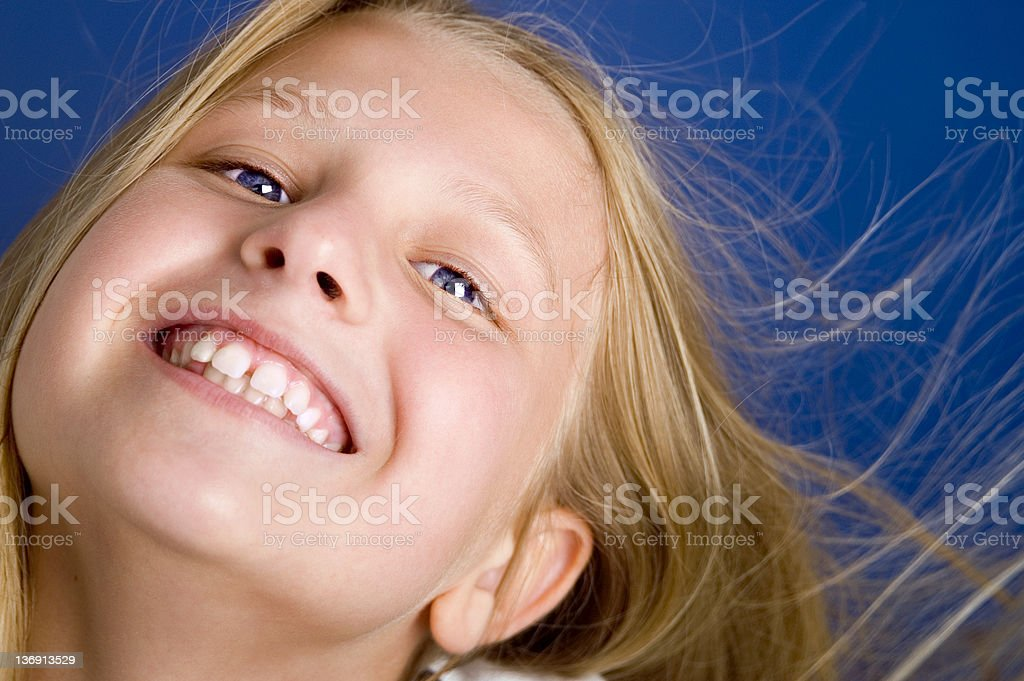 Child's Teeth stock photo