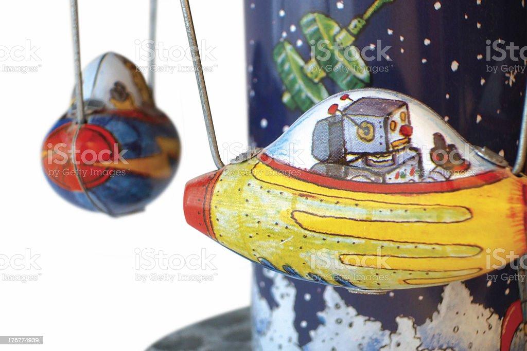 Child's Tin Toy royalty-free stock photo