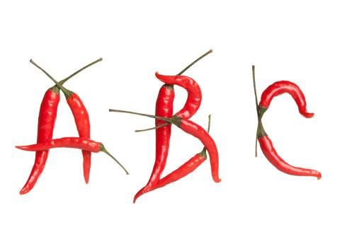Chile alphabet