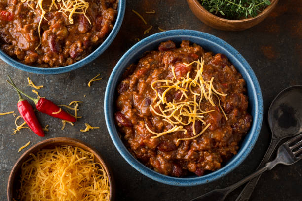 chili - beef stock pictures, royalty-free photos & images