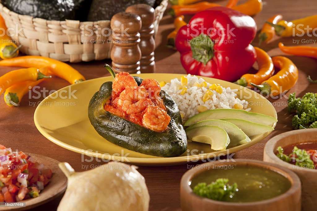 Chile Relleno - foto de stock