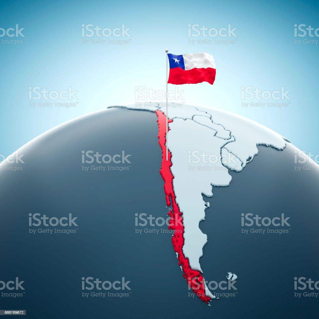 Chile, Santiago - foto de acervo