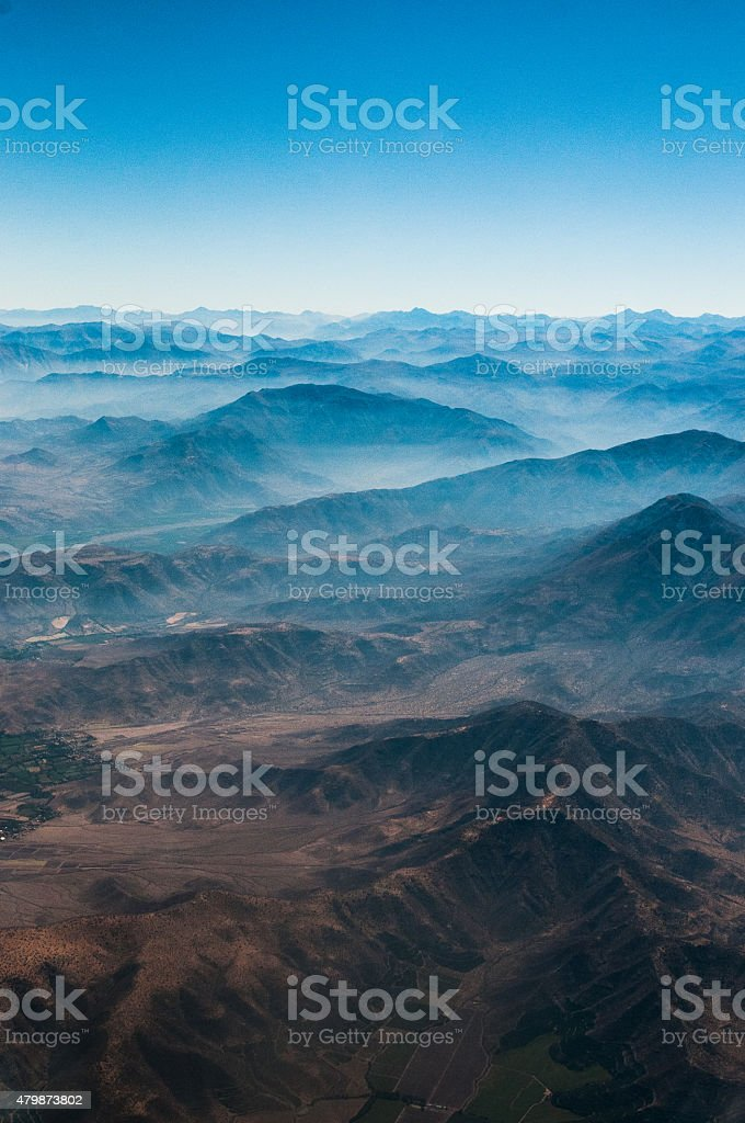 Chilean Andes stock photo