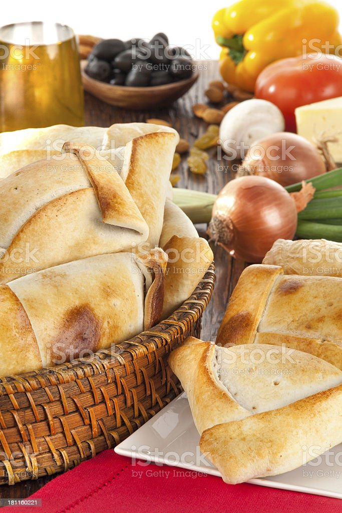Chilean Empanada stock photo