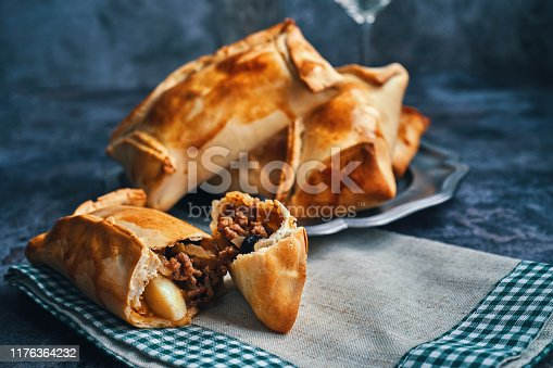 Chilean Empanadas Con Carne with Minced Meat