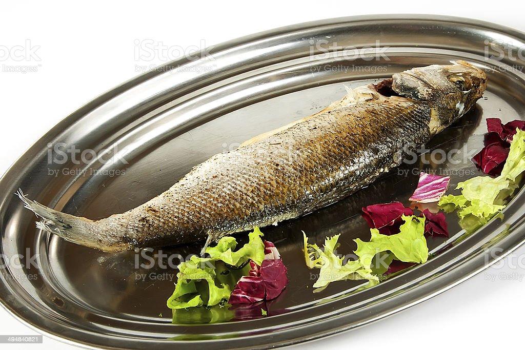 Chilean sea bass stock photo