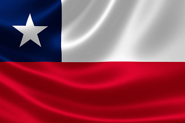 Chile's Flag stock photo