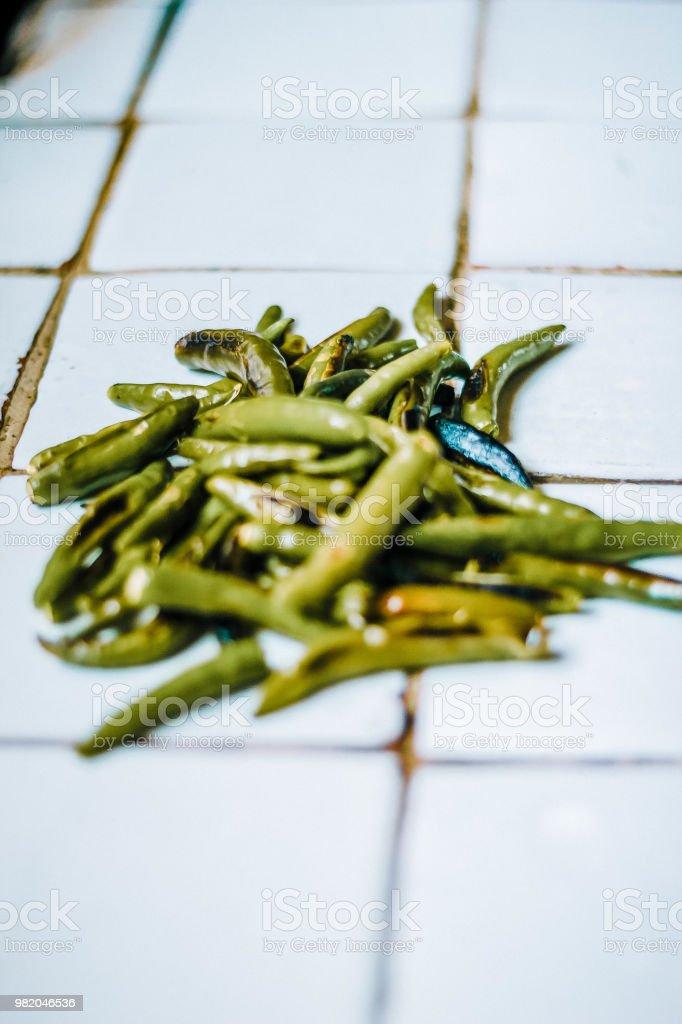 Chiles - foto de stock
