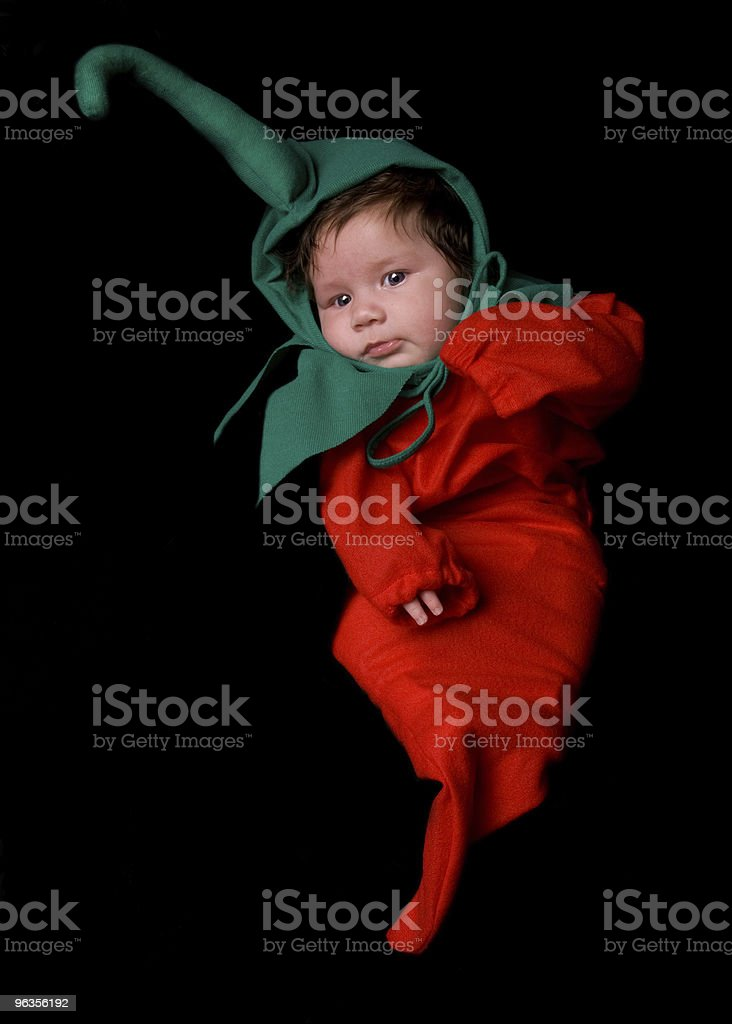 Chili Pepper Baby royalty-free stock photo