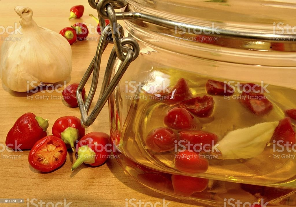 peperoncino royalty-free stock photo