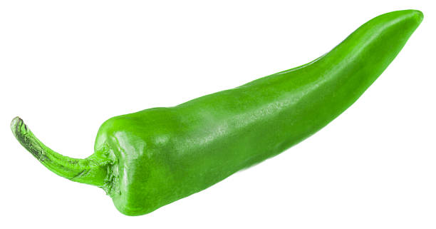chili pepper - green chilli pepper stock photos and pictures