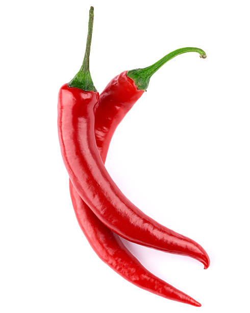 chili pepper - rode chilipeper stockfoto's en -beelden