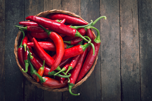 Chili Peppers Stock Photo - Download Image Now