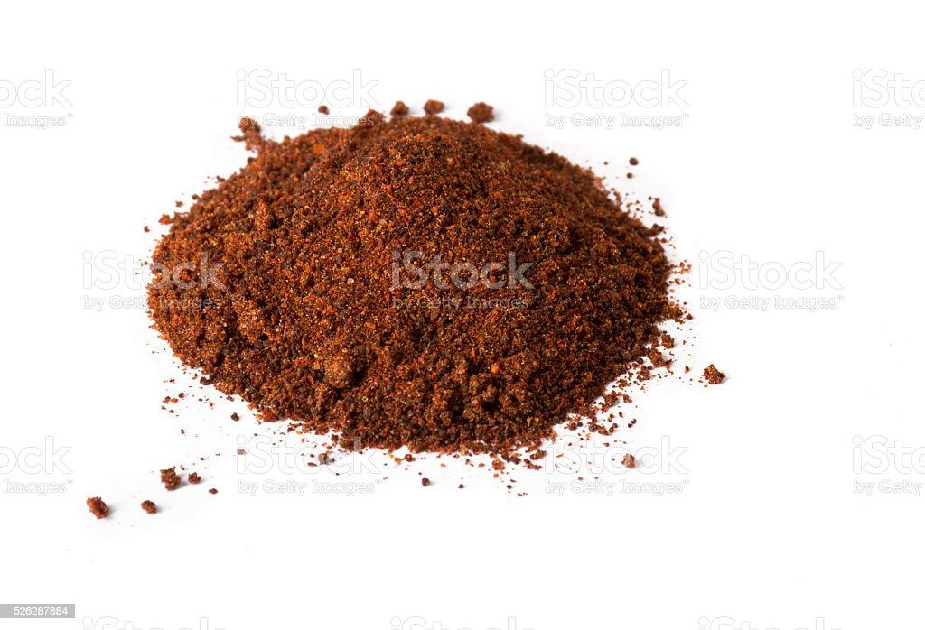 Chili Powder Pile stock photo
