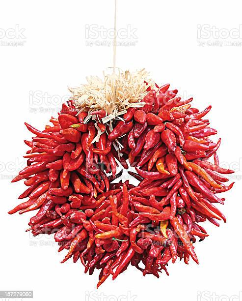 Chili Ristra Wreath