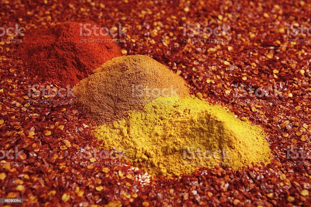 Chili spices royalty-free stock photo