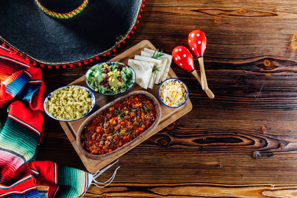 Chili con carne Chili con carne mexican culture stock pictures, royalty-free photos & images