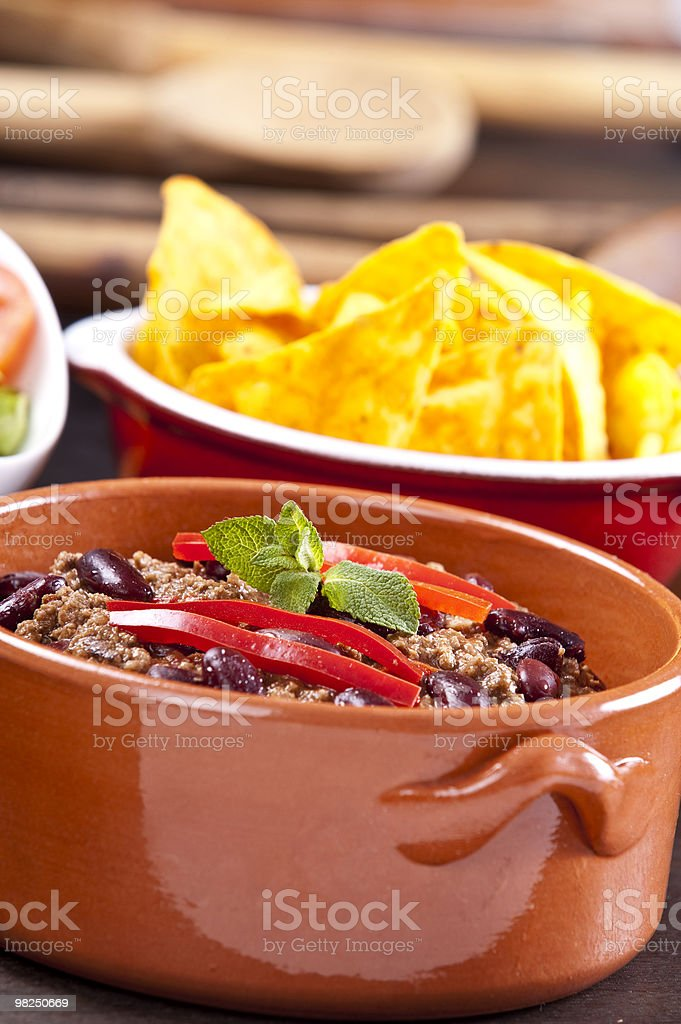 Chili con carne royalty-free stock photo