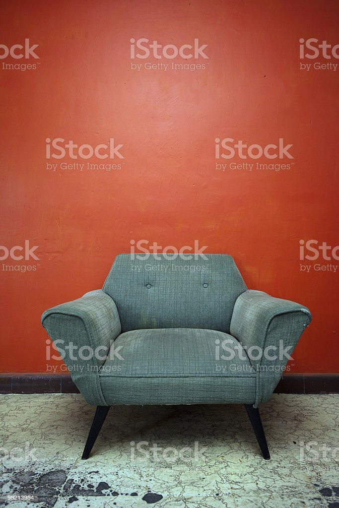Chill Chair royalty-free stock photo