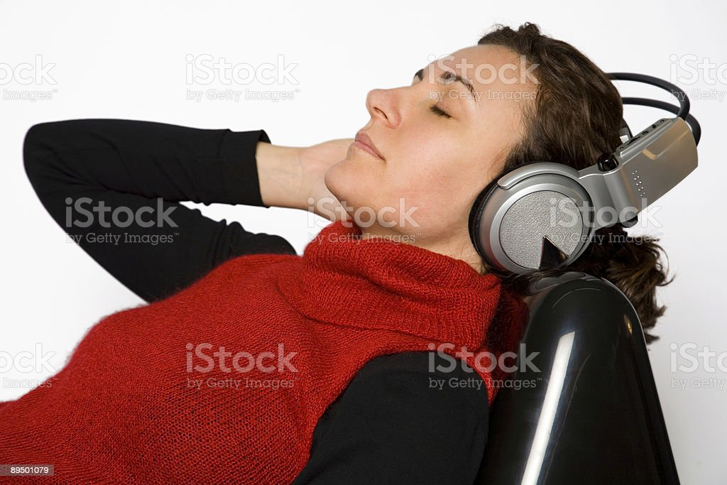 Chill out music royalty free stockfoto