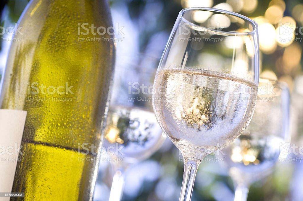 Chilled Wine stock photo