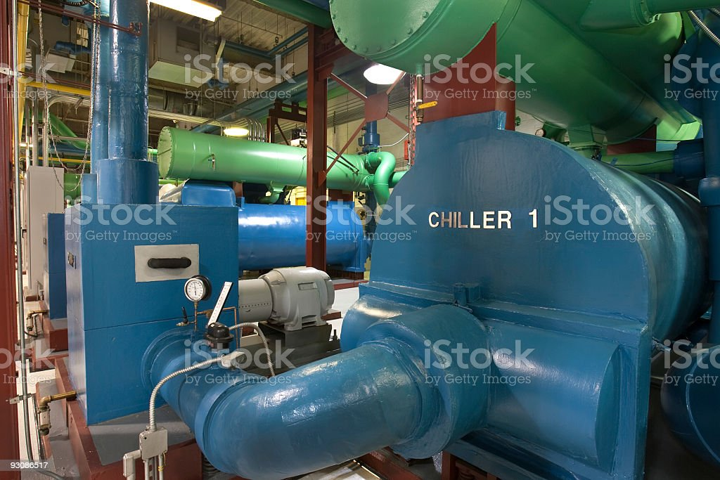 Chiller Room stock photo