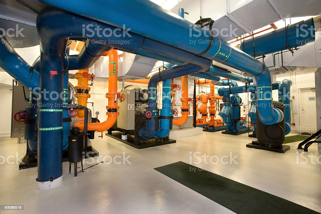 Chiller Room royalty-free stock photo
