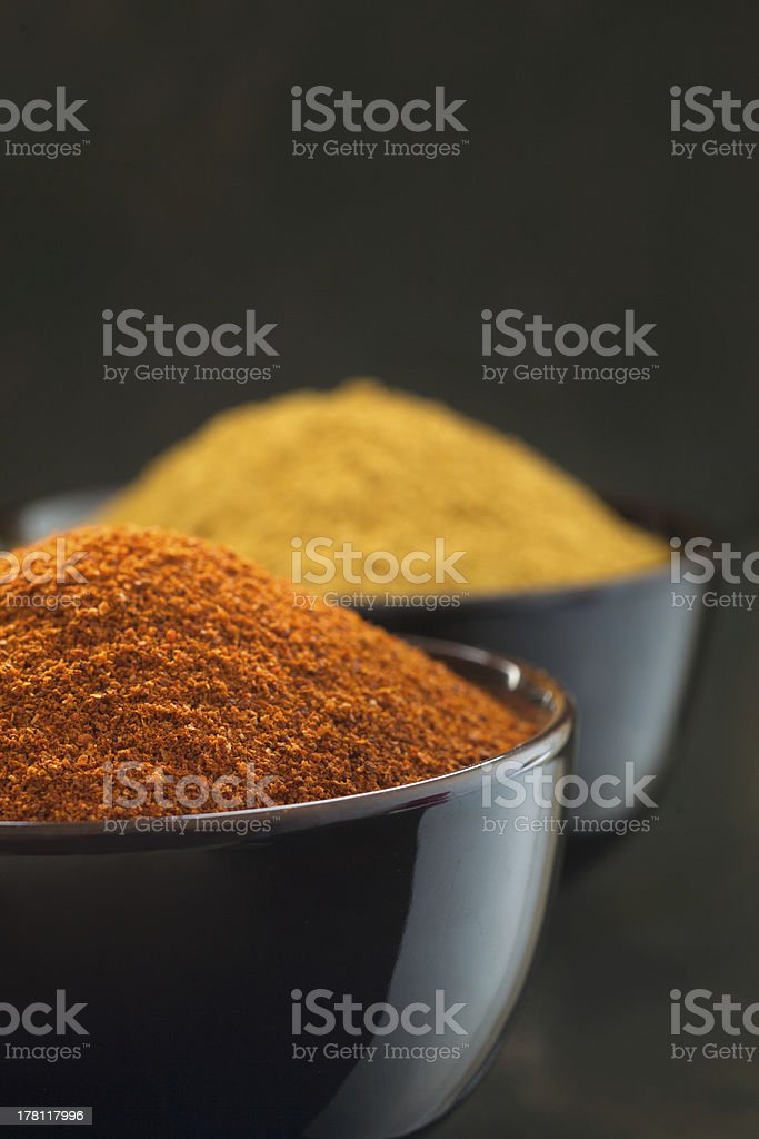 Chilli and curry royalty-free stock photo