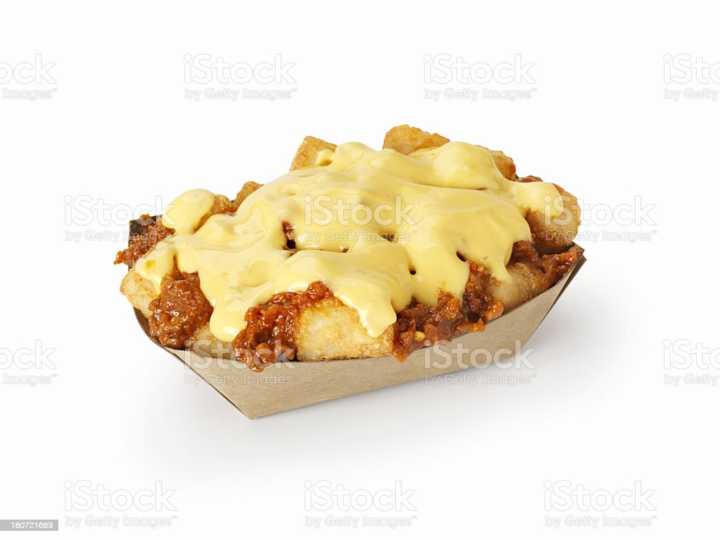 Chilli Cheese Tater Tots stock photo