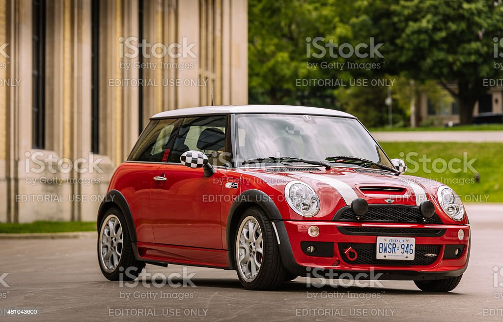 Chilli Red Mini Cooper S Jcw Stock Photo More Pictures Of 2015