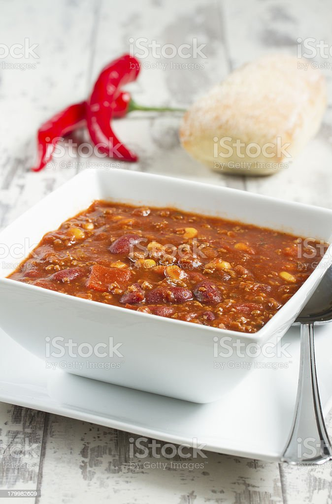 Chilli Con Carne royalty-free stock photo