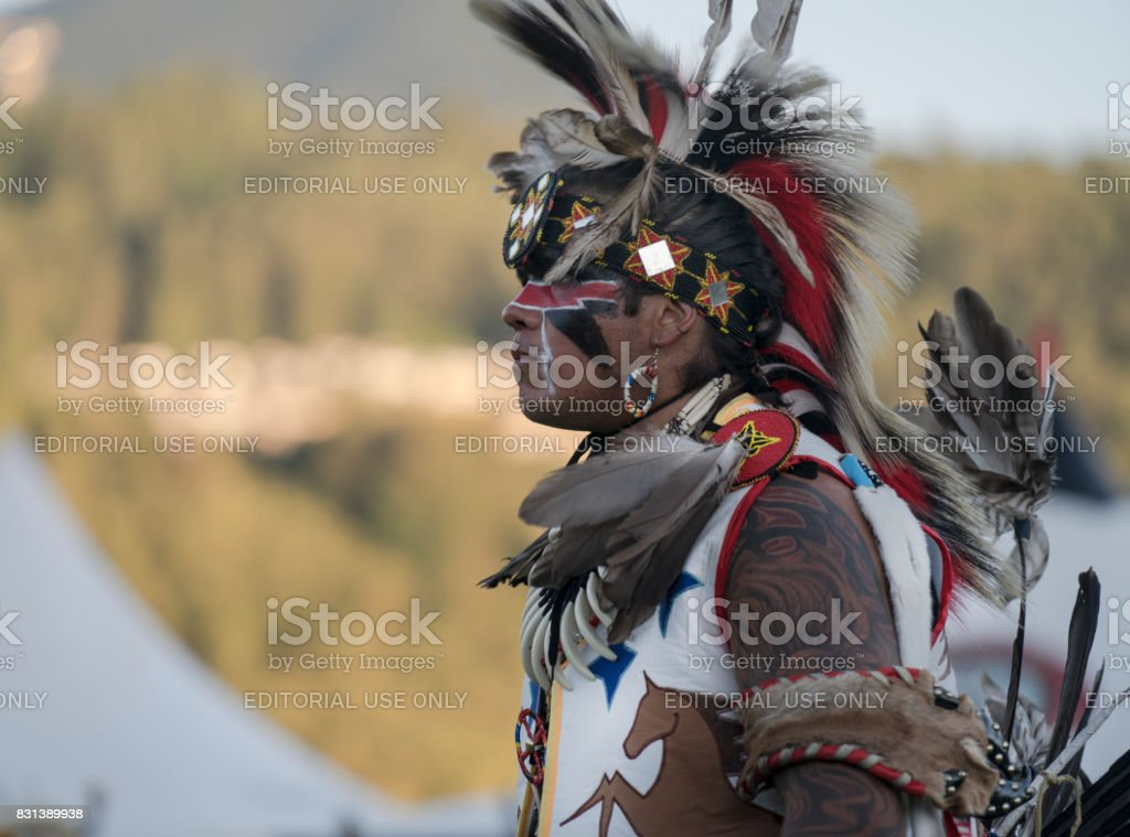 Chilliwack Powwow stock photo