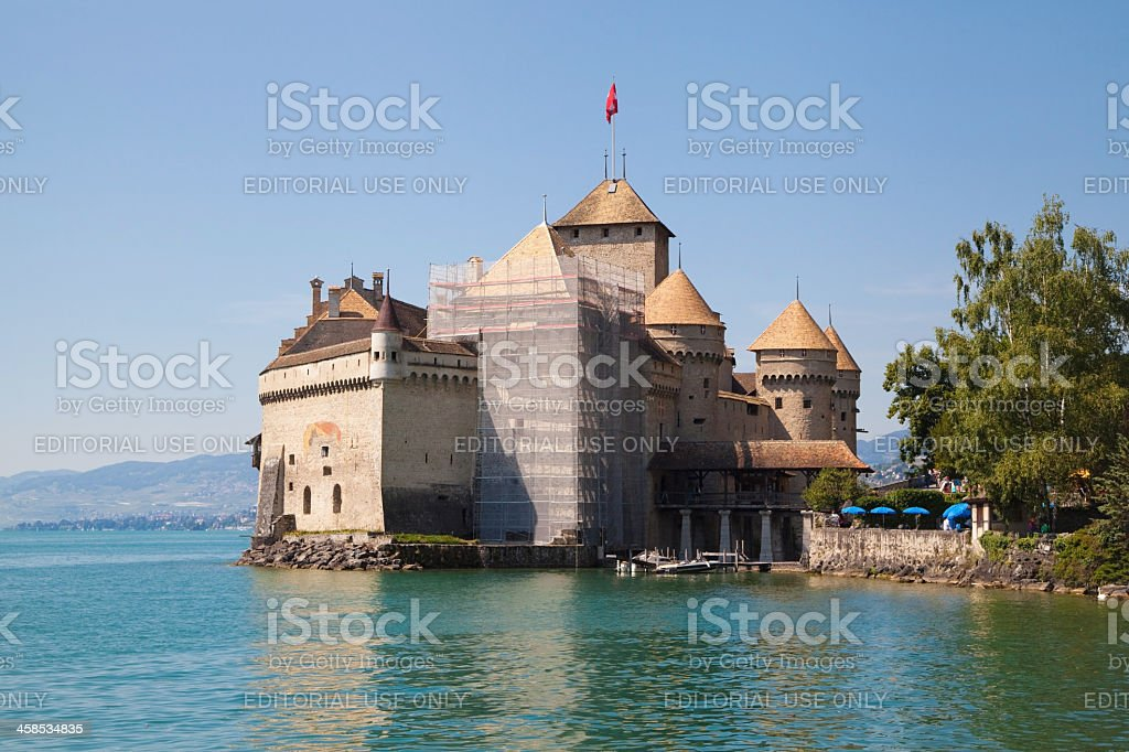 Chillon Castle royalty-free stock photo