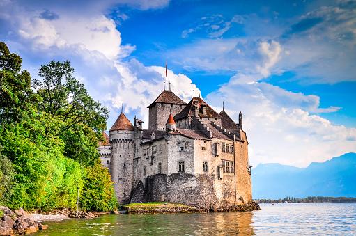 Chillon Castle - Switzerland, Lake Geneve