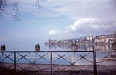 Chillon on Lake Geneva, Switzerland