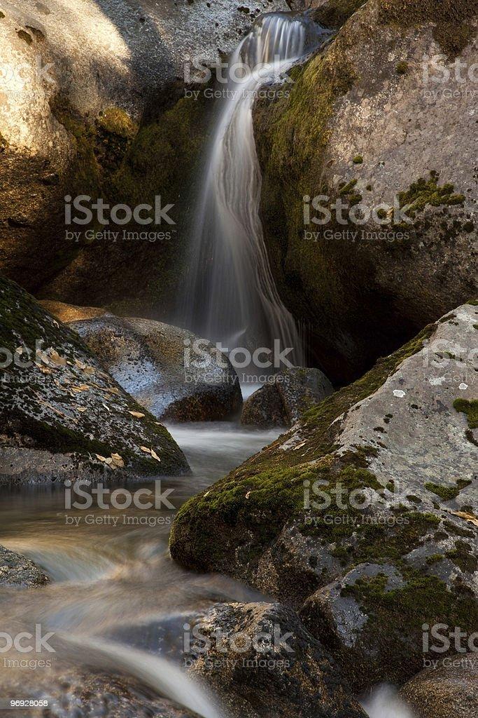 Chilnualna Cascade royalty-free stock photo