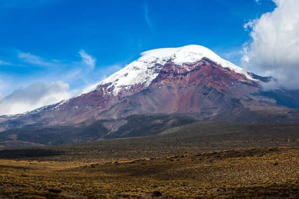 Chimborazo volcano Chimborazo volcano and  the moor, Andes, Ecuador libro stock pictures, royalty-free photos & images