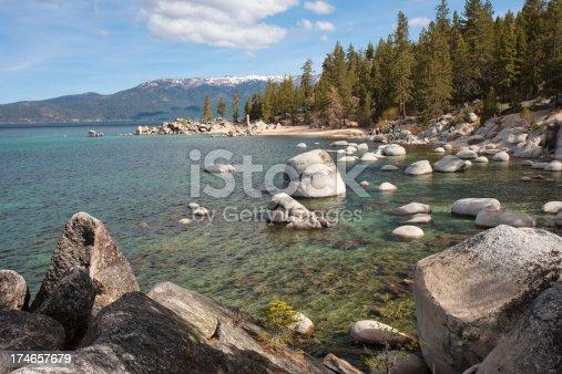 istock Chimney Beach, Lake Tahoe, Nevada 174657679