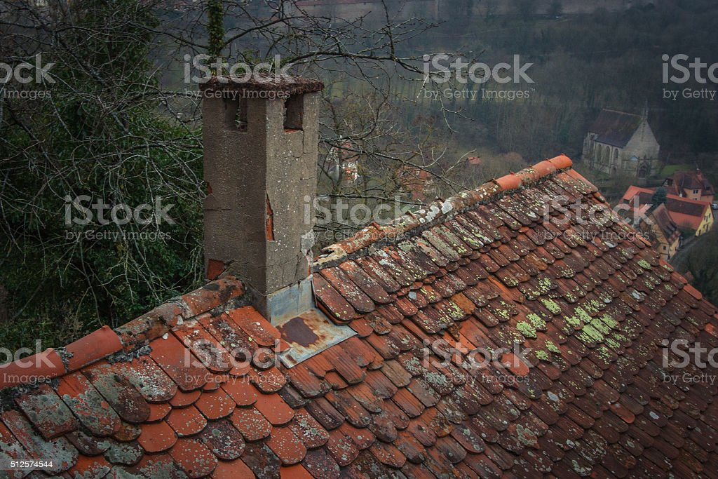 Chimney in Rothenburg ob der Tauber