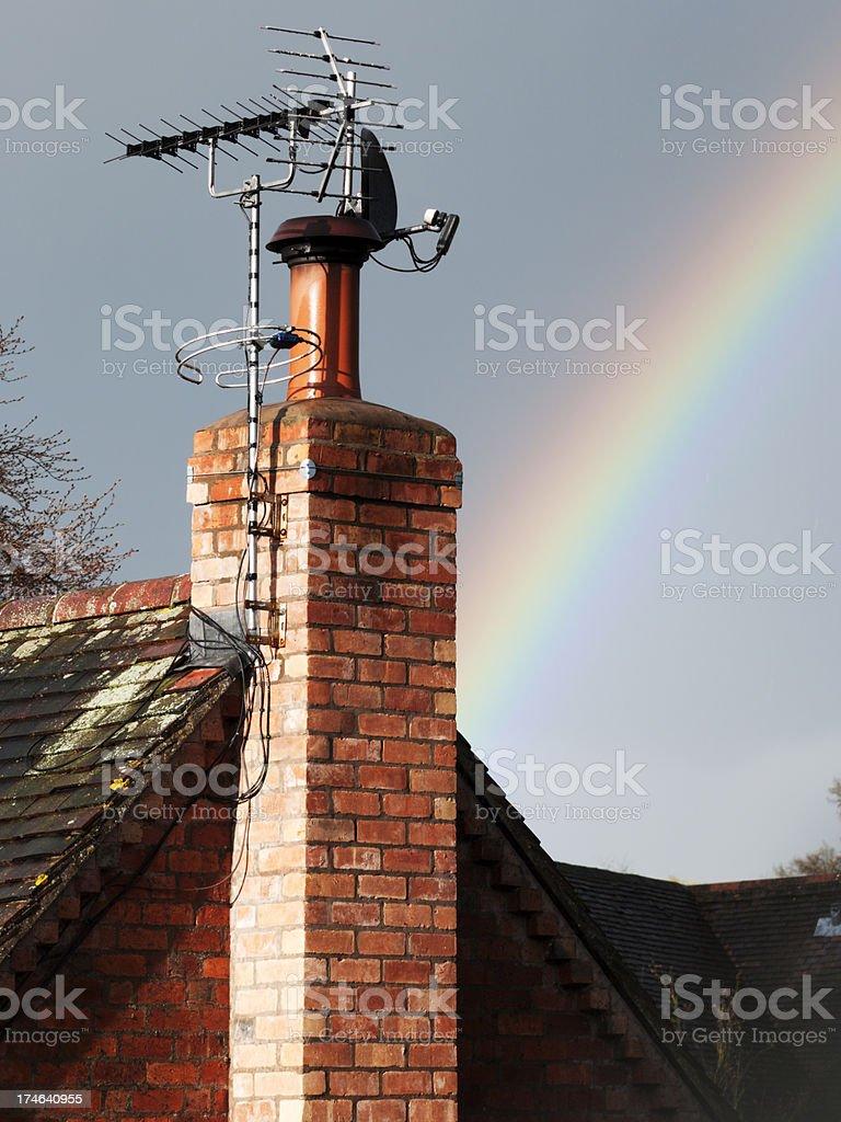 chimney stock photo