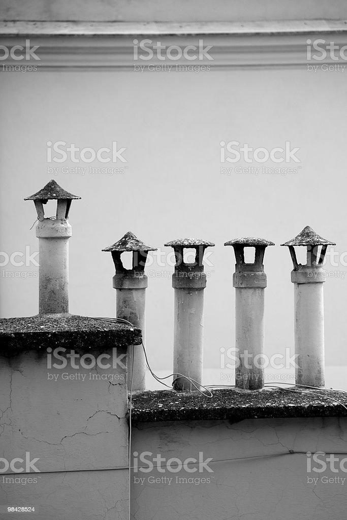 Chimney royalty-free stock photo
