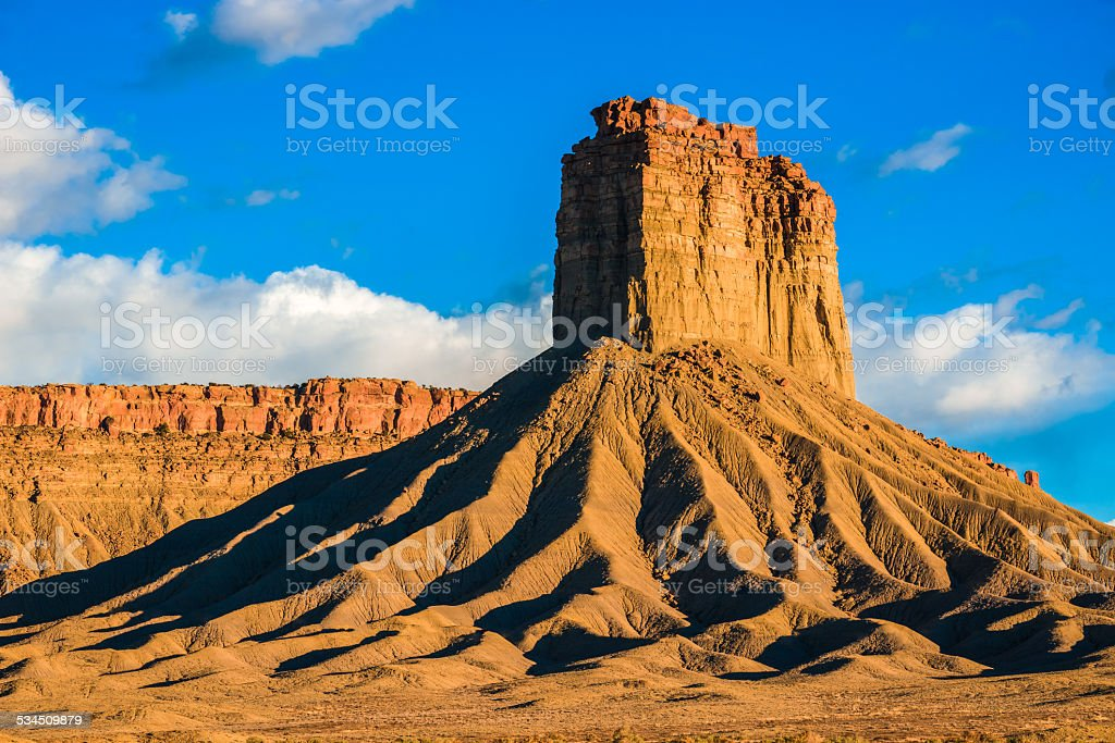 Chimney Rock butte und der bluff rockformation nahe Kalifornien, Colorado – Foto