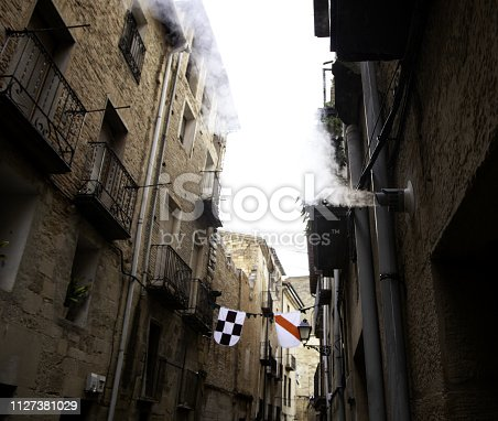 istock Chimney steam air 1127381029