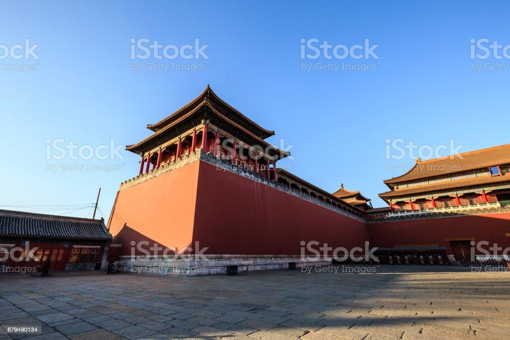 china ancient palace stock photo