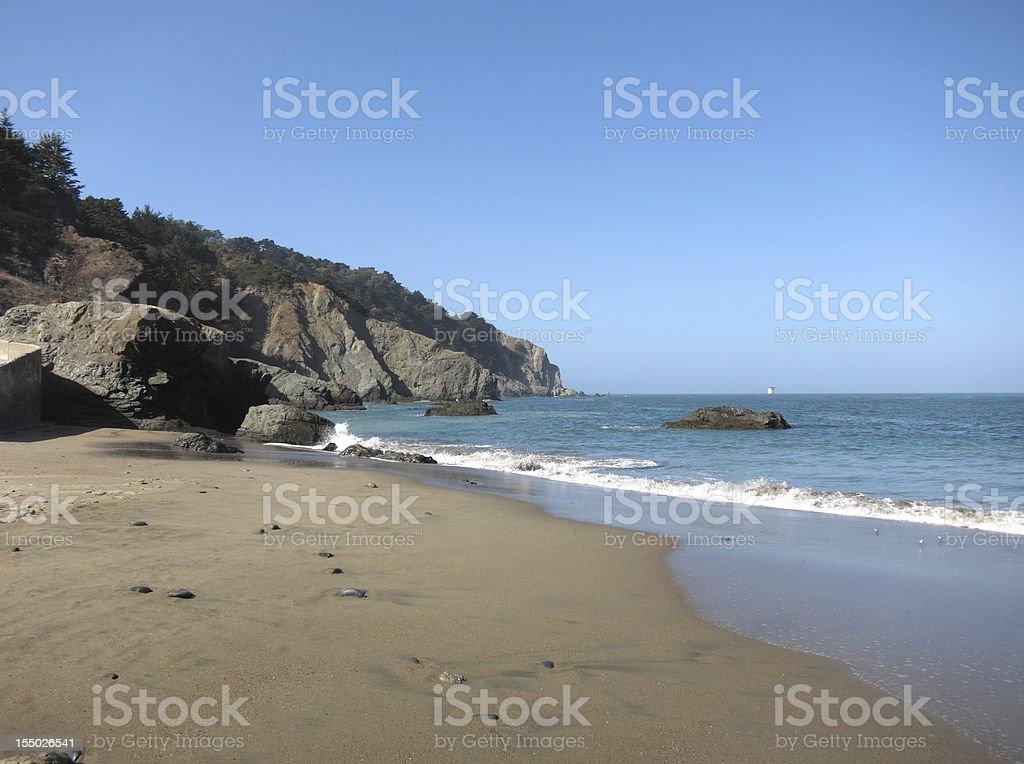 China Beach, San Francisco royalty-free stock photo