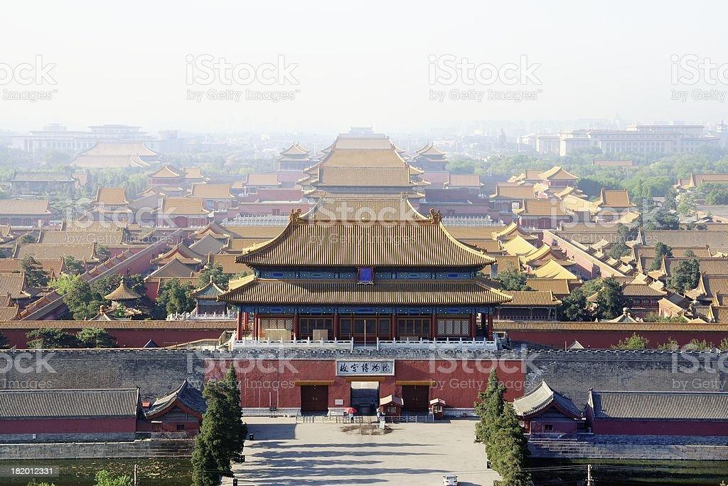 China Beijing Forbidden City royalty-free stock photo
