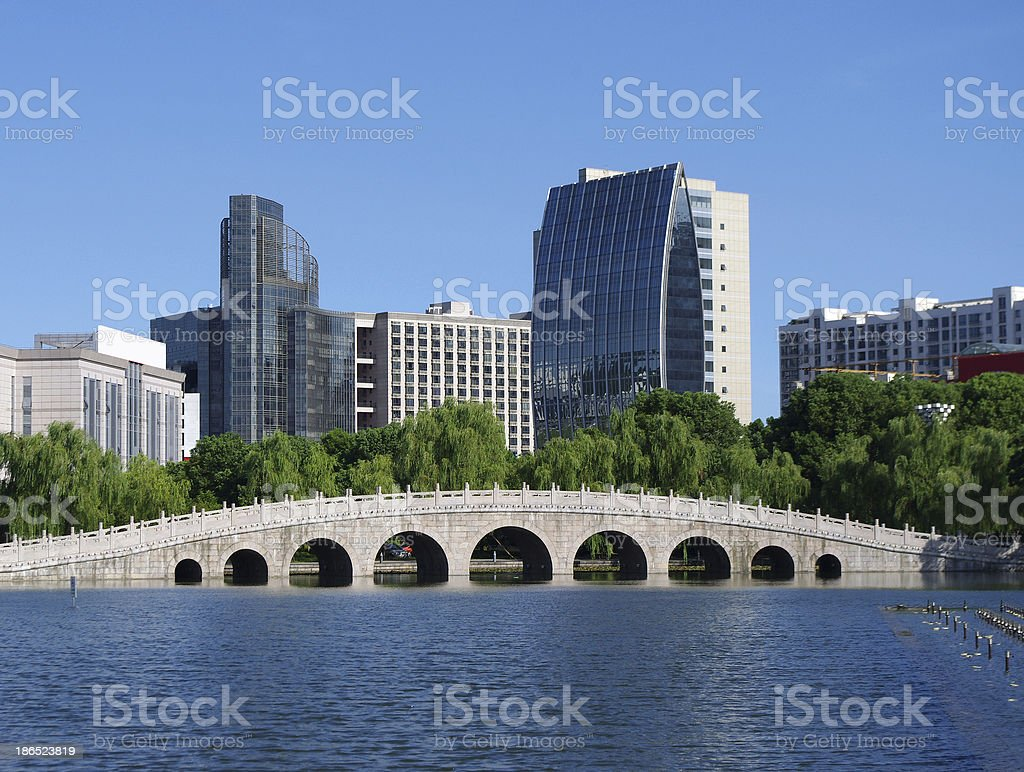 China Building Bridges royalty-free stock photo